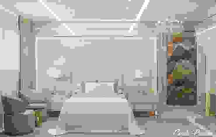 Suite Master Camila Pimenta | Arquitetura + Interiores Quartos pequenos Madeira Bege