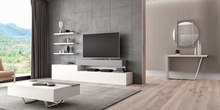 Farimovel Furniture ห้องนั่งเล่นตู้เก็บของและชั้นเก็บของ