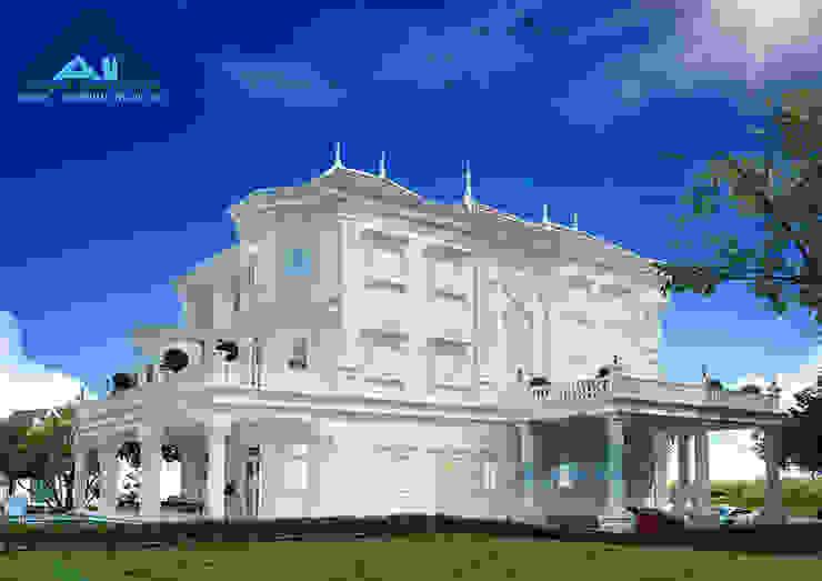 Công ty Kiến trúc Á Âu Villa Béton Blanc