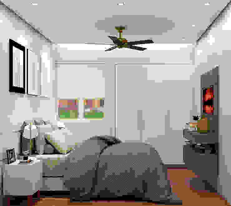 Quarto Casal Quartos modernos por SCK Arquitetos Moderno
