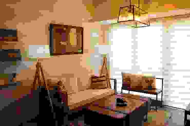 Modern Minimalist homify Living room