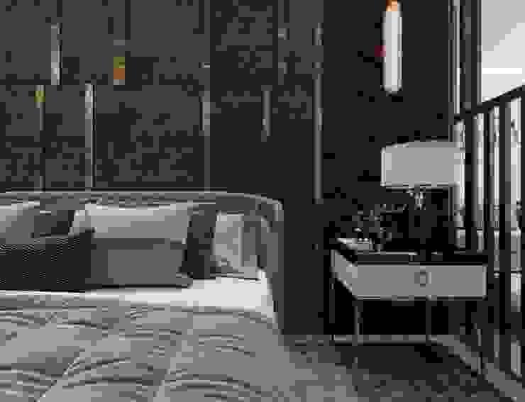 Yatak başlığı Entrada Mimarlık Modern Bakır/Bronz/Pirinç