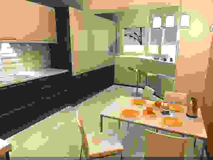 CLARE studio di architettura Dapur Modern