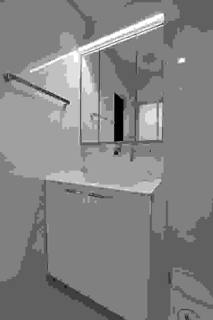 洗面室① Style Create 洗面所&風呂&トイレミラー 白色