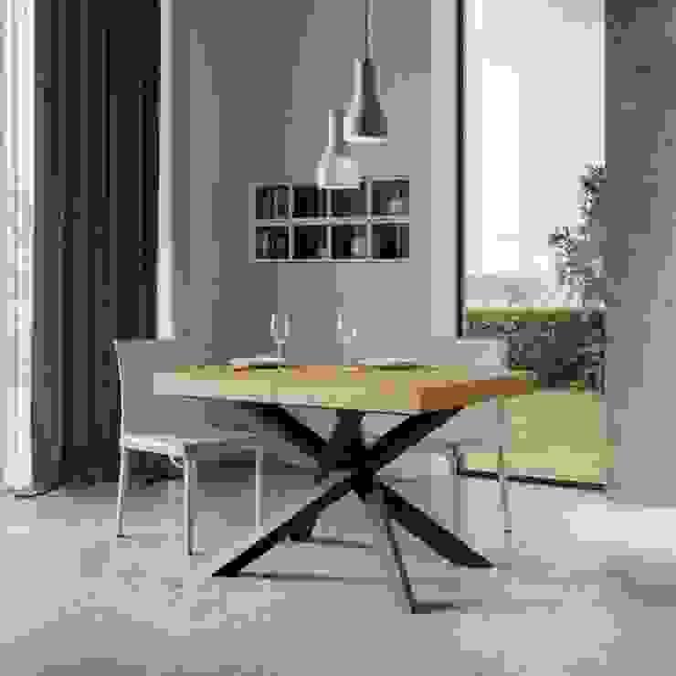 Tavolo allungabile Volantis 130 itamoby Sala da pranzo moderna Legno Effetto legno