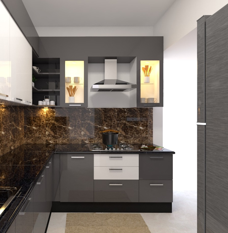 2 Modern kitchen by Magnon India Modern