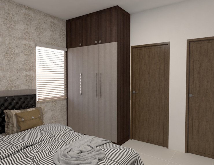 2 Modern style bedroom by Magnon India Modern