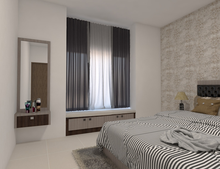 3 Modern style bedroom by Magnon India Modern