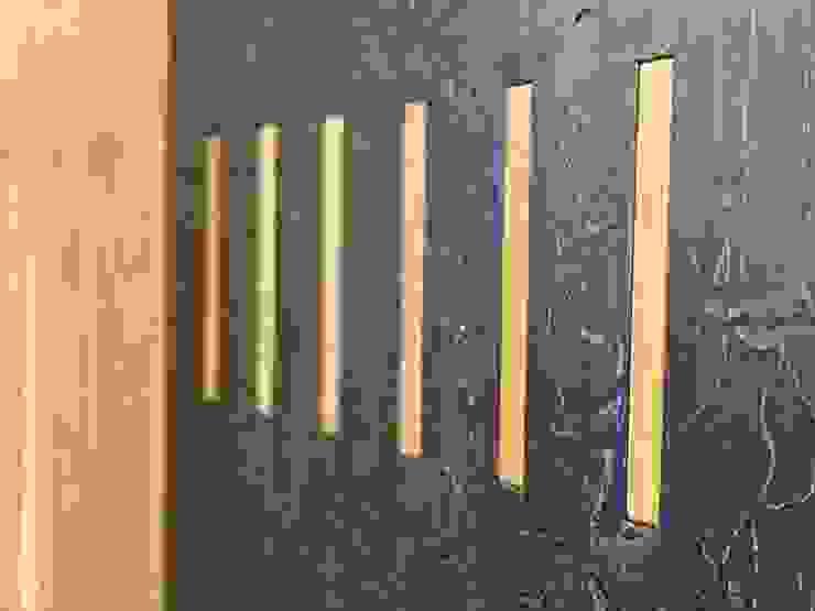 lab58 Couloir, entrée, escaliers modernes Bois Noir