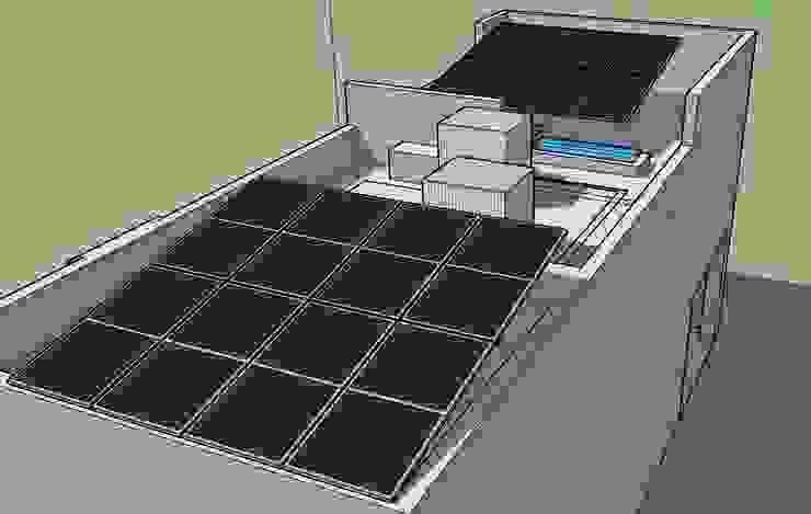 ESPECIALISTAS EN ENERGÍA SOLAR SOLAR MX INSTALACIÓN DE PANELES SOLARES Dachterrasse
