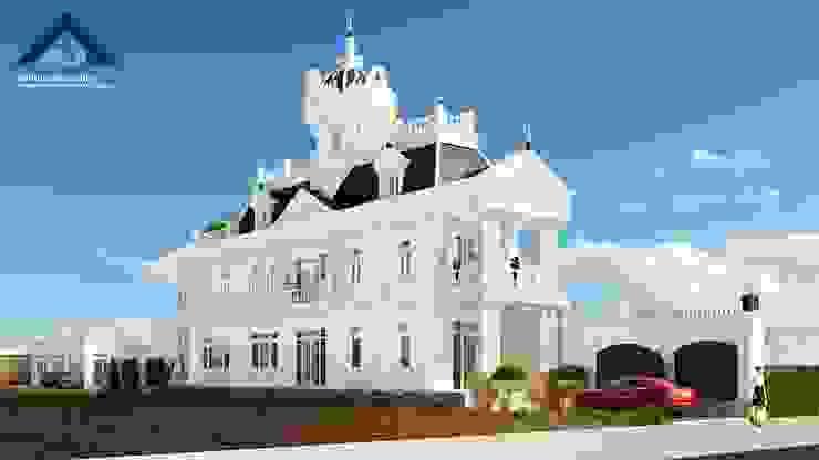 Công ty Kiến trúc Á Âu วิลล่า คอนกรีต White