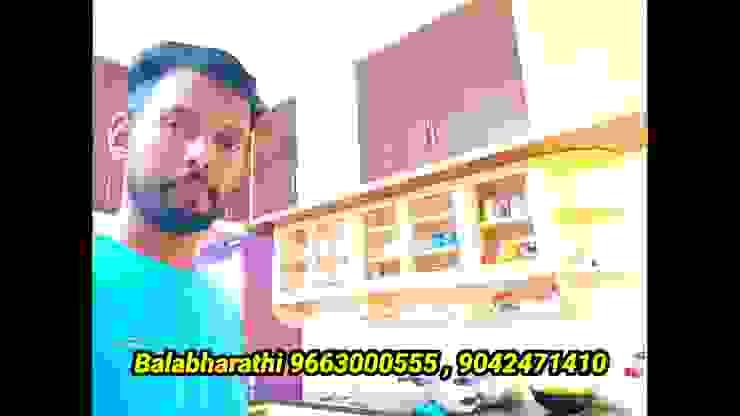 balabharathi pvc interior design CocinaAccesorios y textiles Plástico Acabado en madera
