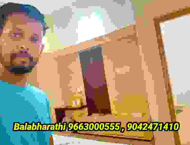 balabharathi pvc interior design SalonesMuebles de televisión y dispositivos electrónicos Plástico Acabado en madera