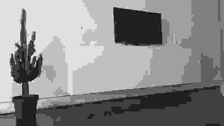 Salotto Casaenergia Srls Soggiorno moderno Alluminio / Zinco Bianco