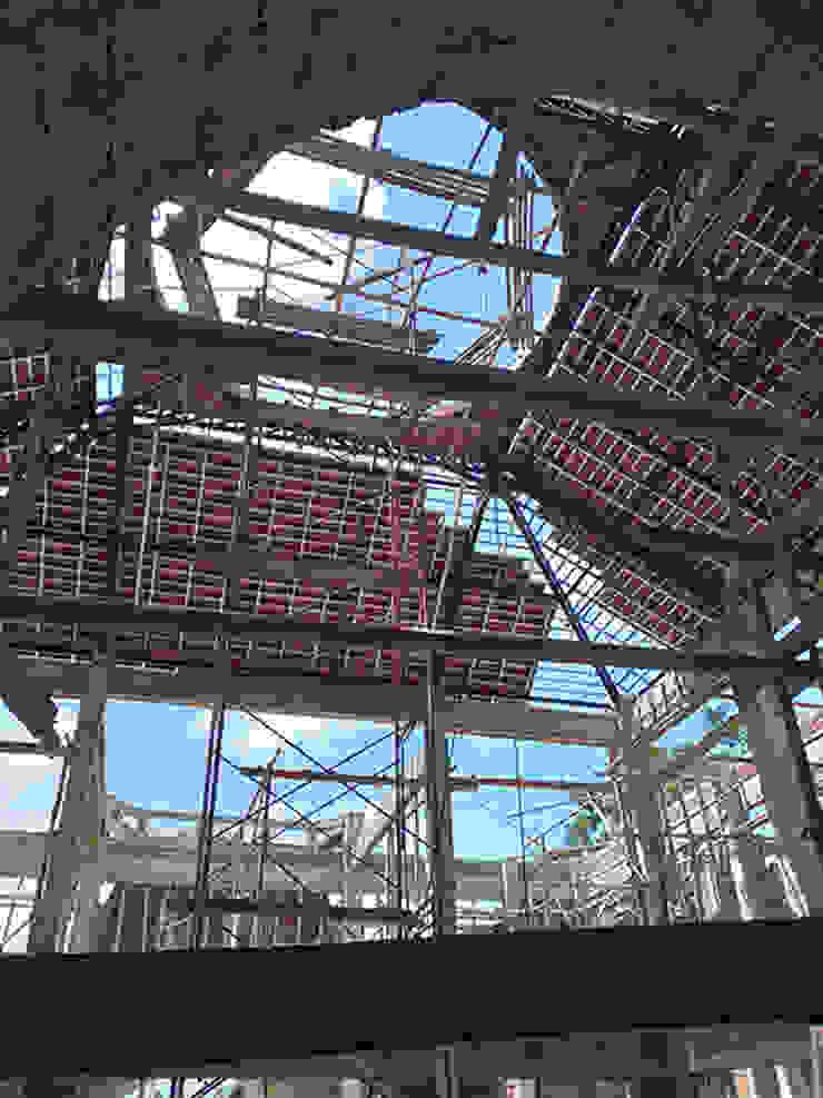Atap Kubah Alfaiz Design Atap landai Metal Black