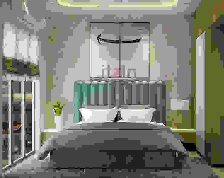 Bedroom 2 Itzin World Designs Modern style bedroom