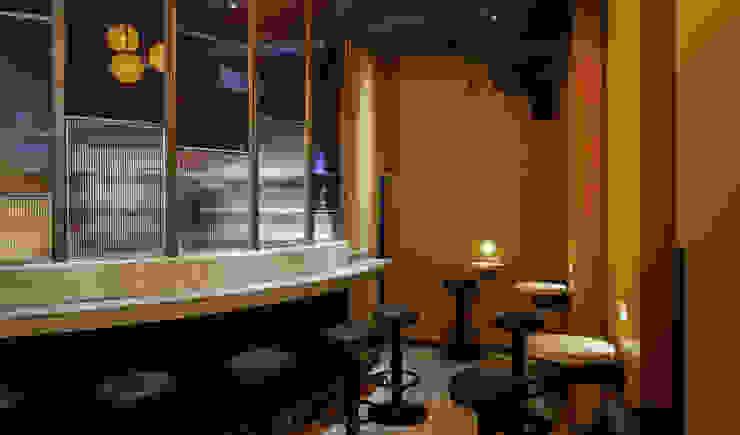 Beton Tresen material raum form Moderne Gastronomie Beton