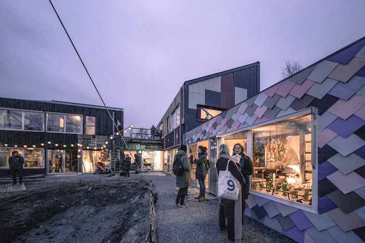 RHAW architecture Multi-Family house