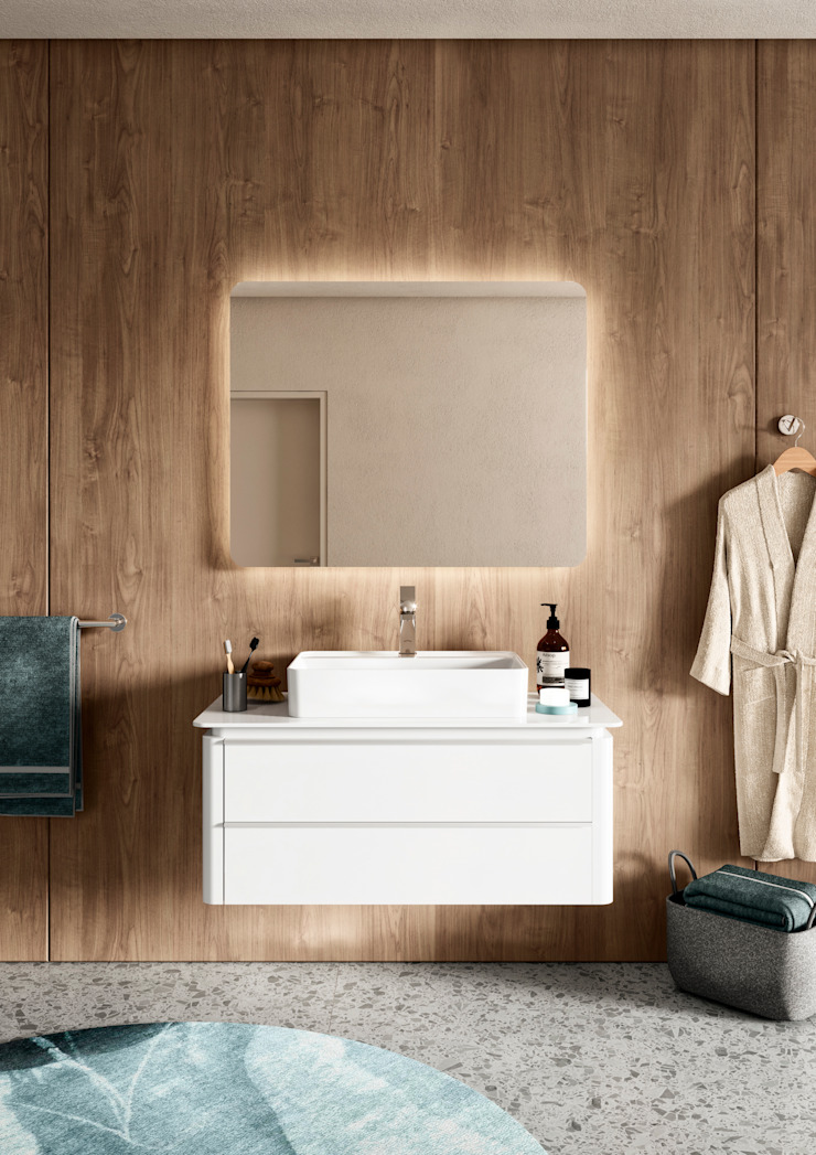 Melissa vilar BathroomMedicine cabinets Wood White