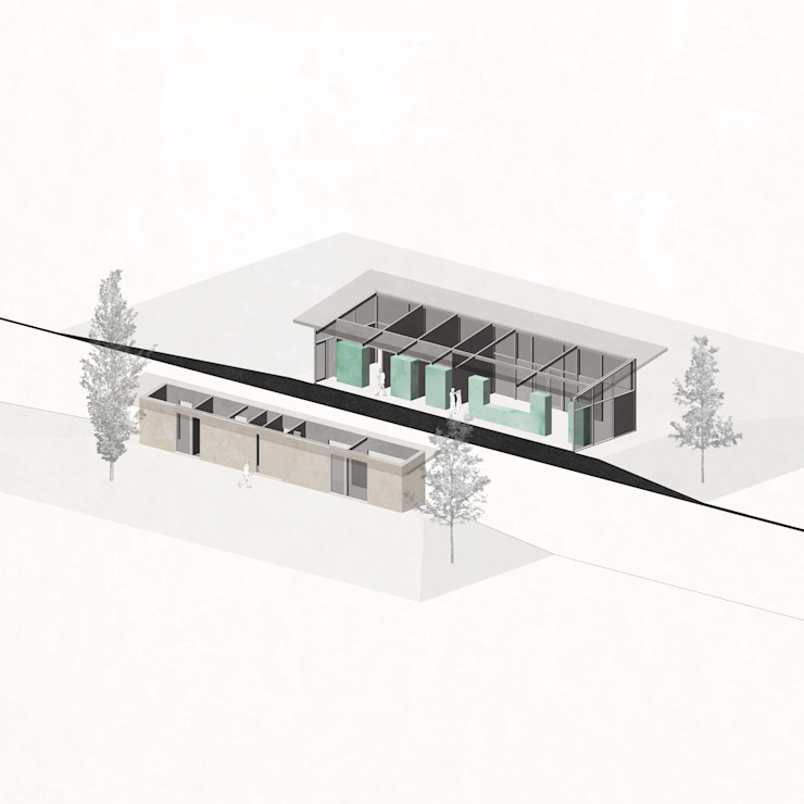 RHAW architecture Biệt thự Gỗ Beige