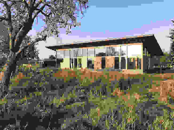 RHAW architecture Villas Wood Beige