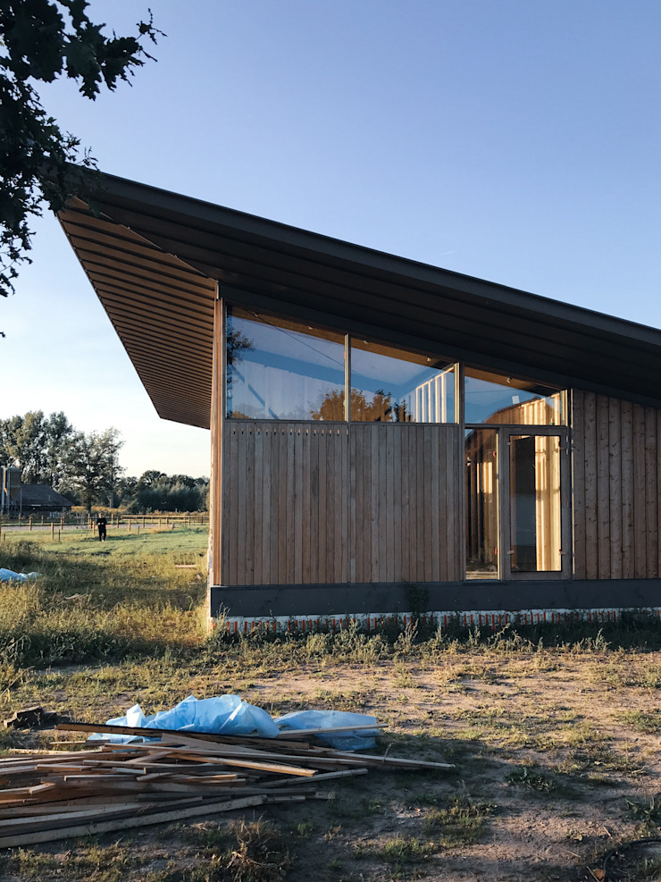 RHAW architecture Wooden houses Wood Beige