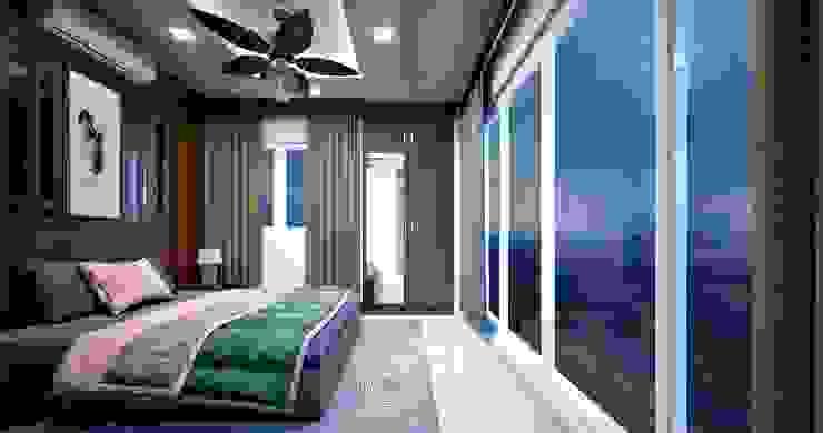 Bedroom design styles Premdas Krishna BedroomBeds & headboards Wood Wood effect