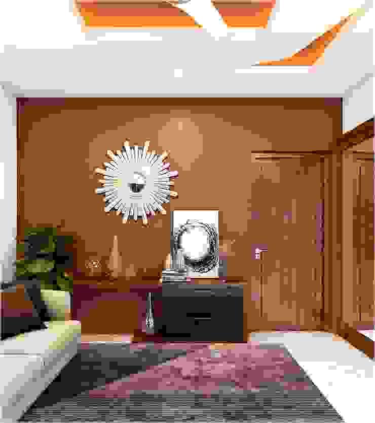 Interior special designs Premdas Krishna Dressing roomLighting Wood Wood effect