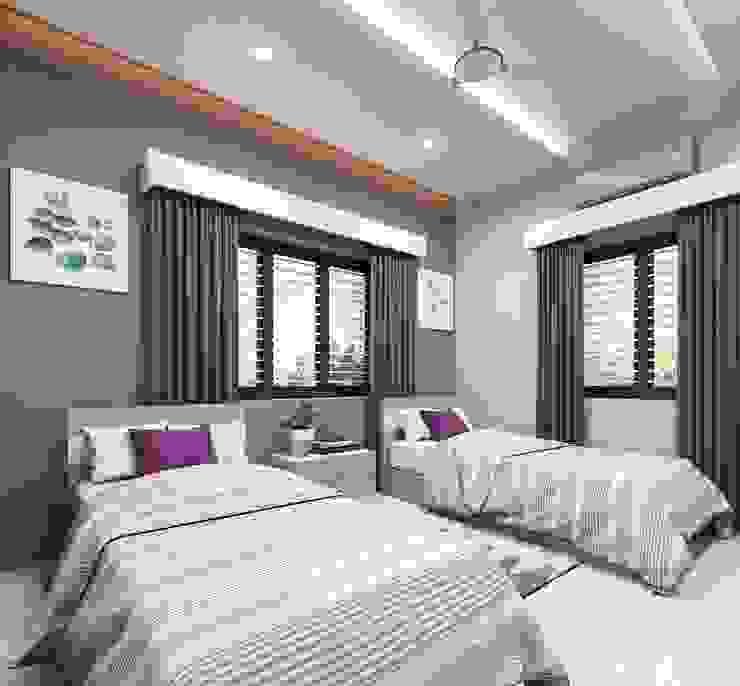 Guest Bedroom Designs Premdas Krishna BedroomBeds & headboards Wood Wood effect
