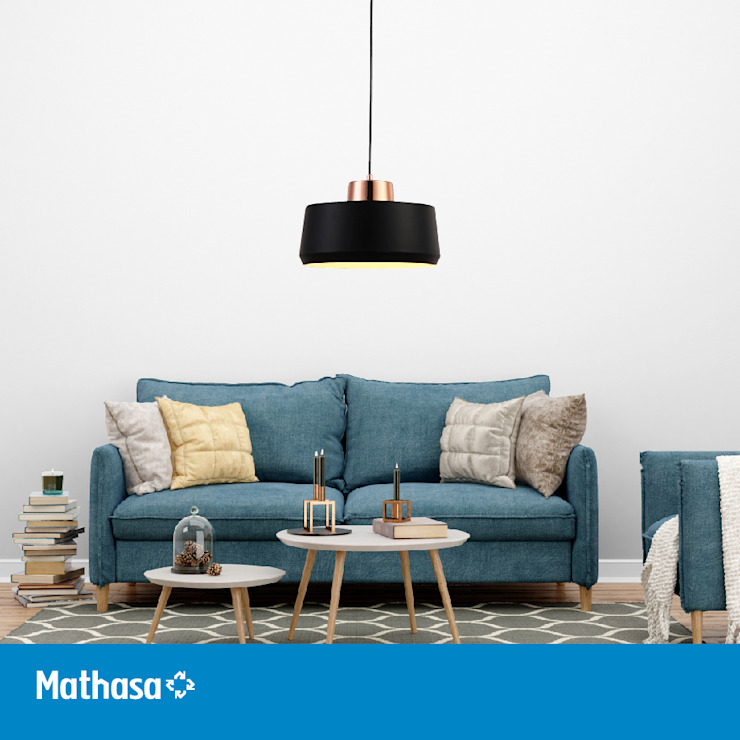 Mathasa BedroomLighting Metal Black