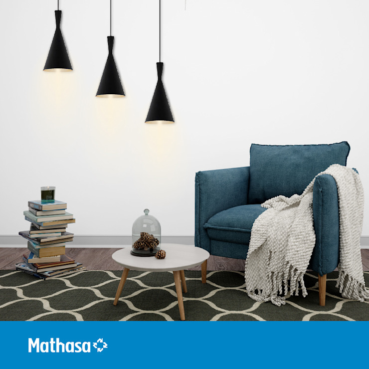 Mathasa Study/officeLighting Metal Black