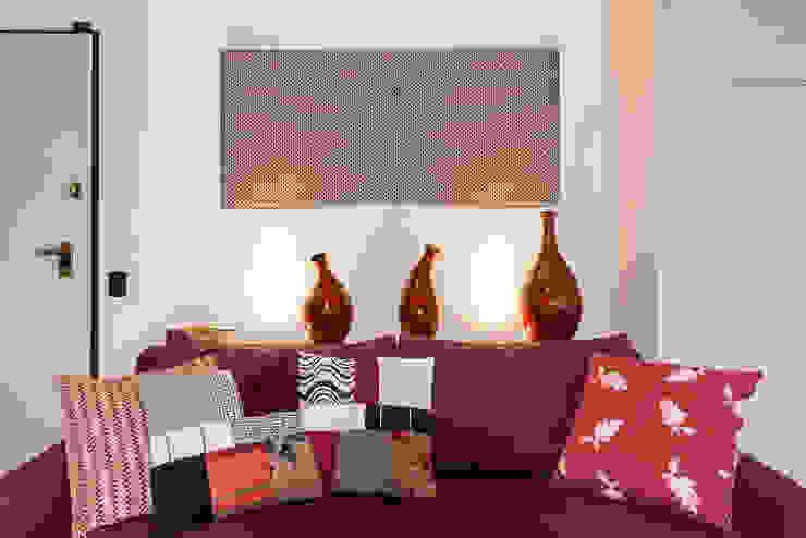 Essestudioarch 现代客厅設計點子、靈感 & 圖片 Red