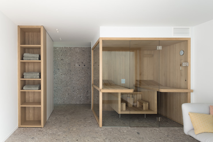 Niko Wauters architecten bvba Saunas