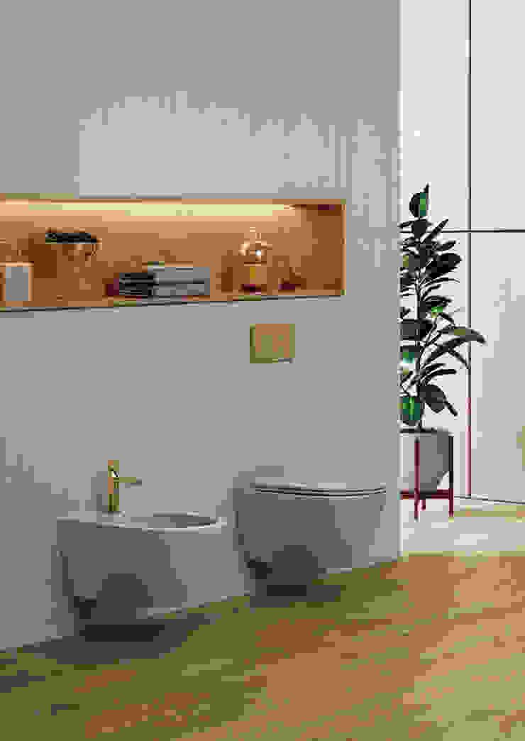Melissa vilar BathroomToilets Ceramic Brown