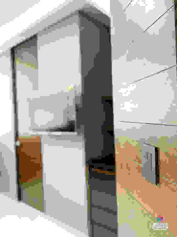 Diseño de iluminaci´ón y red Estudio Chipotle Clínicas / Consultorios Médicos Compuestos de madera y plástico Marrón