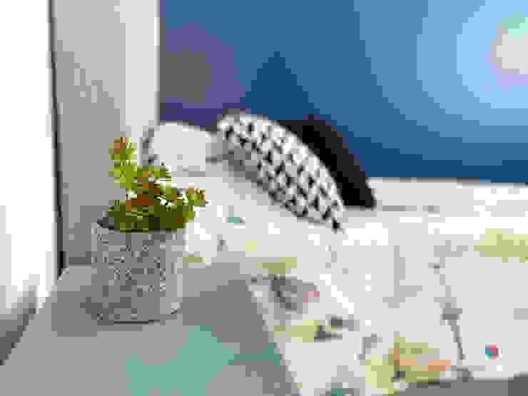 Estudio Chipotle BedroomBeds & headboards Textile Grey
