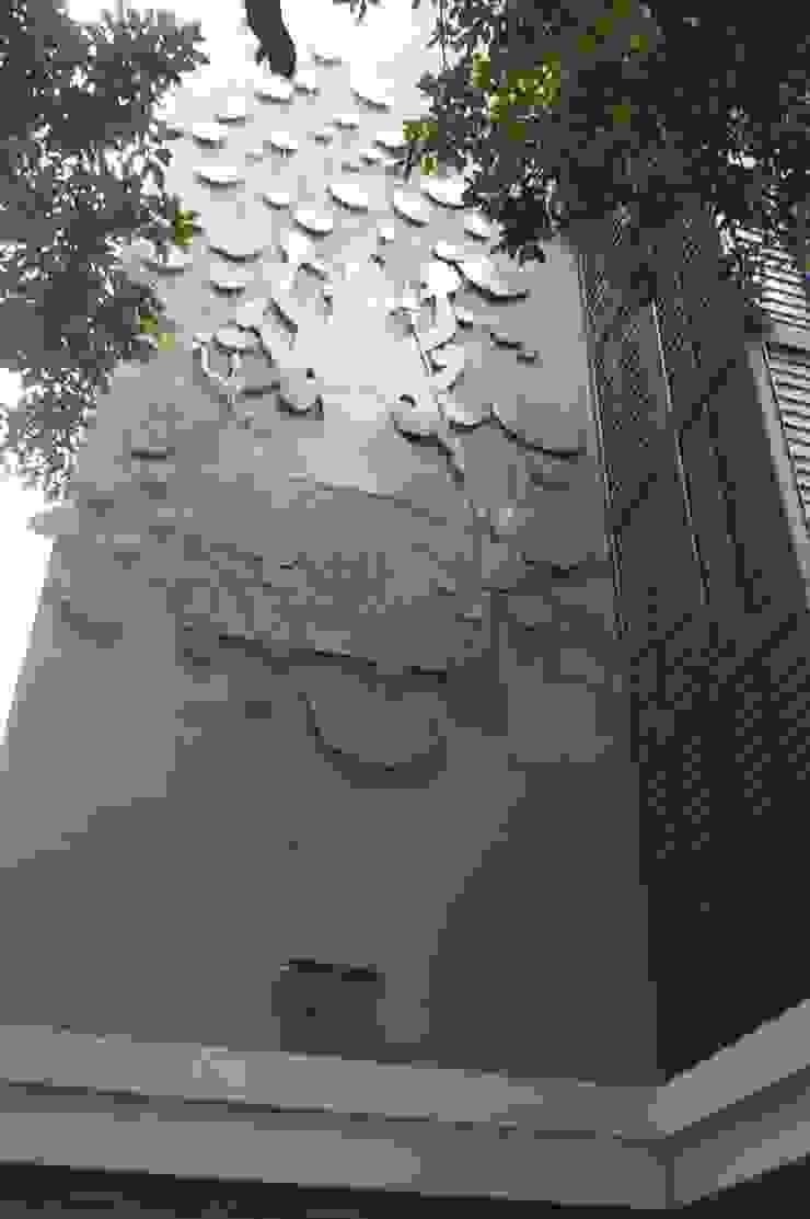 marishi mrittika, the sculpture 醫院 鋁箔/鋅 Grey