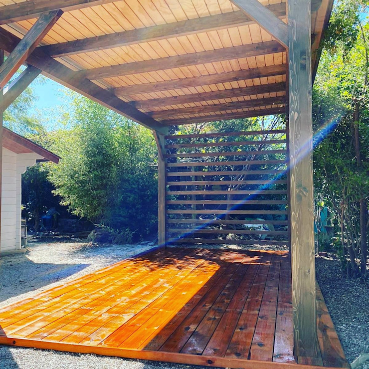 ESTRUCTURAS DE MADERAS RIGÓN, S.L. Garden Greenhouses & pavilions Kayu