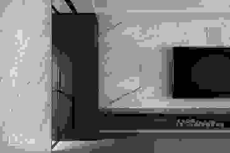 電視牆石材 禾廊室內設計 Walls