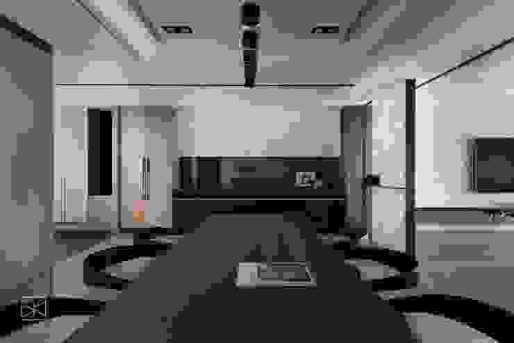 餐邊櫃 禾廊室內設計 Modern dining room