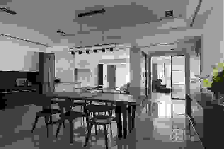 餐廳 禾廊室內設計 Modern dining room
