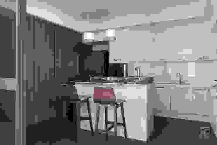 中島兼吧檯 禾廊室內設計 Kitchen