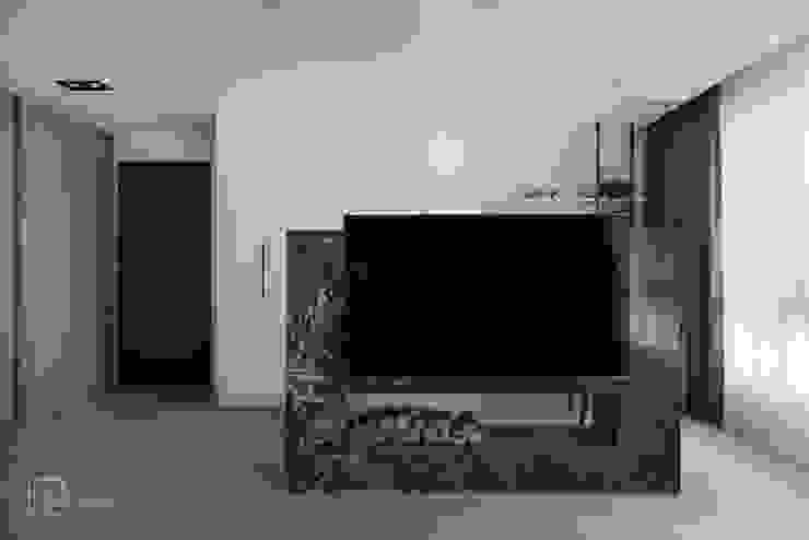 主臥電視牆 禾廊室內設計 Modern style bedroom