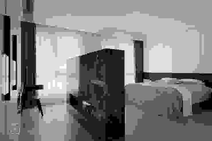 主臥空間視角 禾廊室內設計 Modern style bedroom