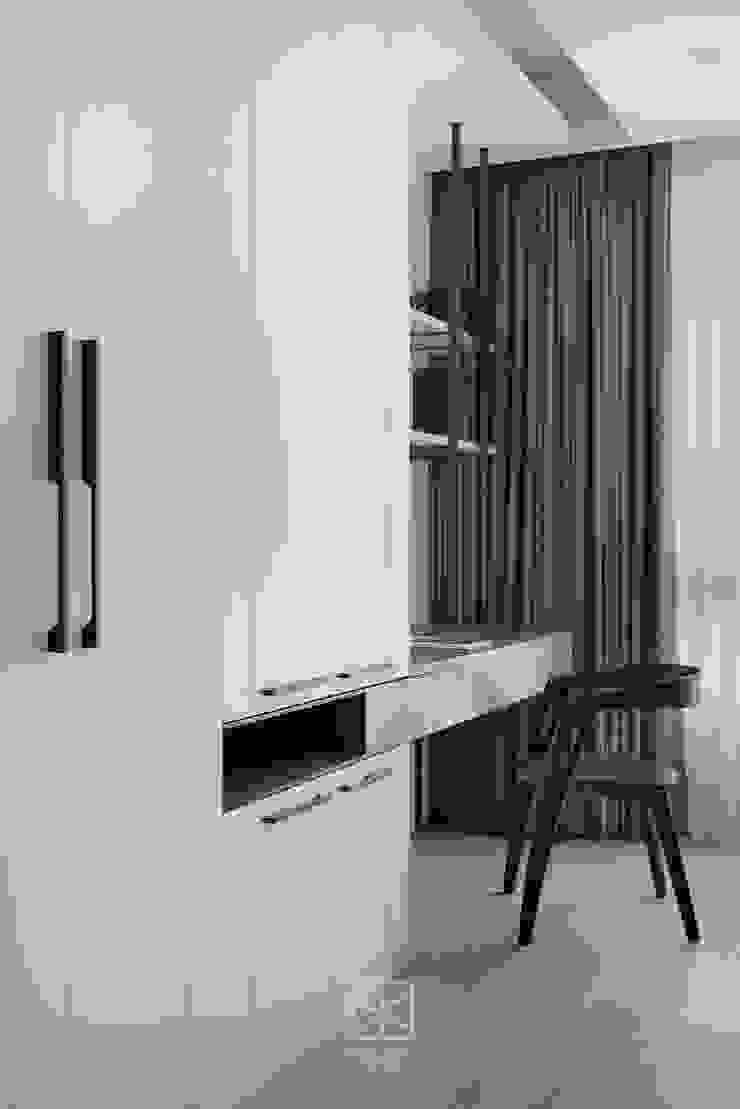 主臥書房 禾廊室內設計 Modern style bedroom