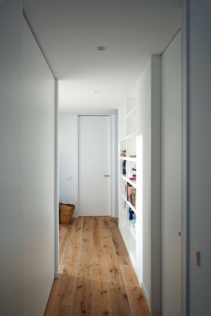 AD+ arquitectura Modern Study Room and Home Office Wood