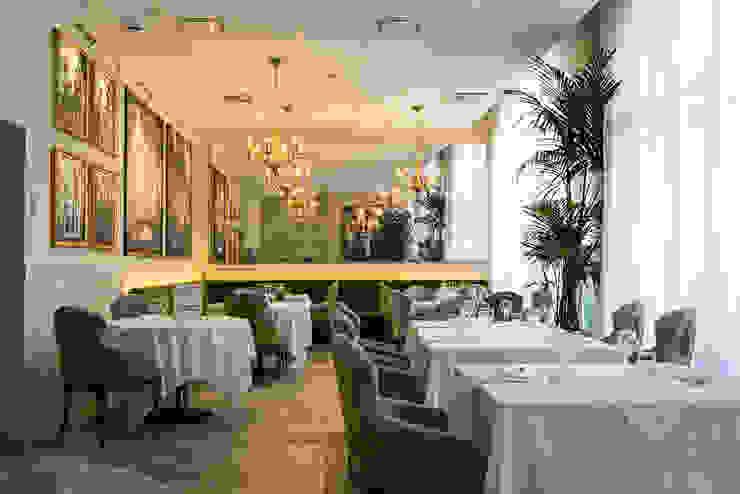 Shooting Ristorante e Bar a Brescia Sala da pranzo in stile classico di Lara Zacchi Photo Classico