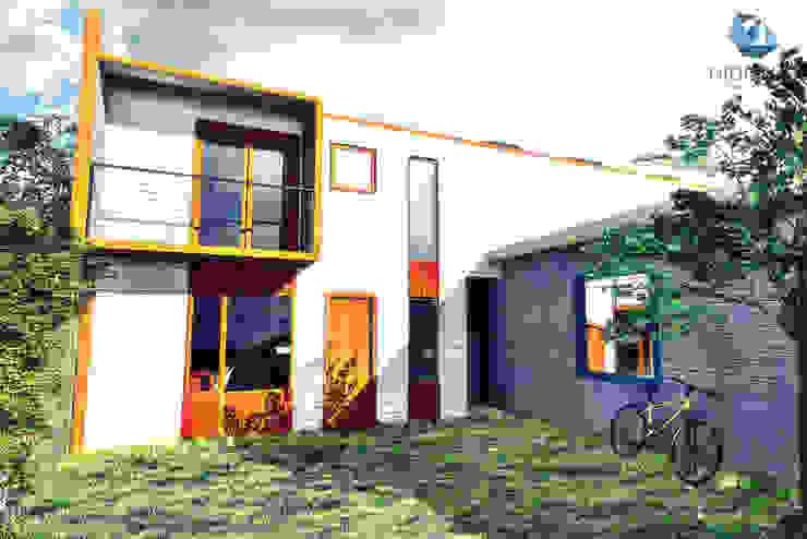 Diseño de casa en Huachocopihue, Valdivia NidoSur Arquitectos - Valdivia Casas unifamiliares