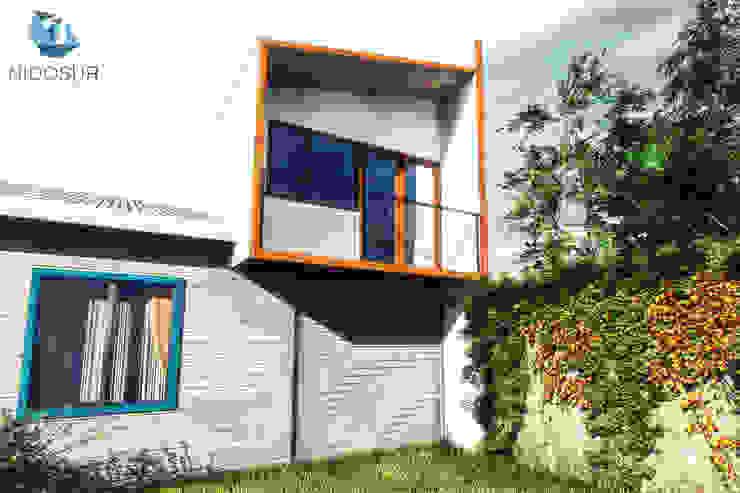 Diseño de casa en Huachocopihue, Valdivia de NidoSur Arquitectos - Valdivia Moderno