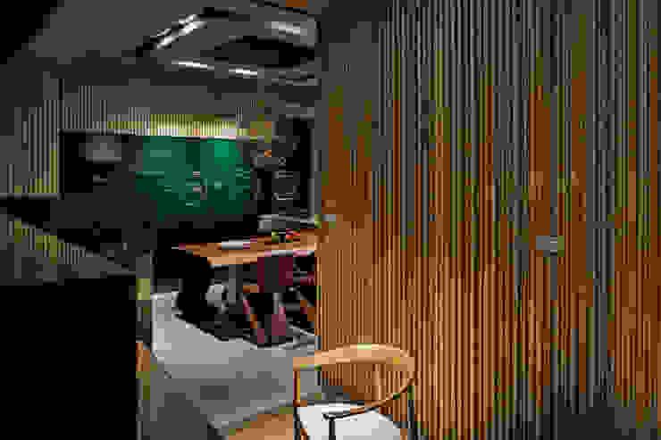 大隱靜寂 大湖森林室內設計 青少年房 金屬 Green